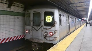 FASTRACK IND 6th Ave Line: Train Traffic at 23rd St-6th Ave (FASTRACK G.O.)