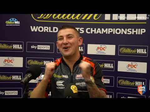 "Nathan Aspinall on sudden death win over Waites: ""I believed I was out – the gods were with me"""