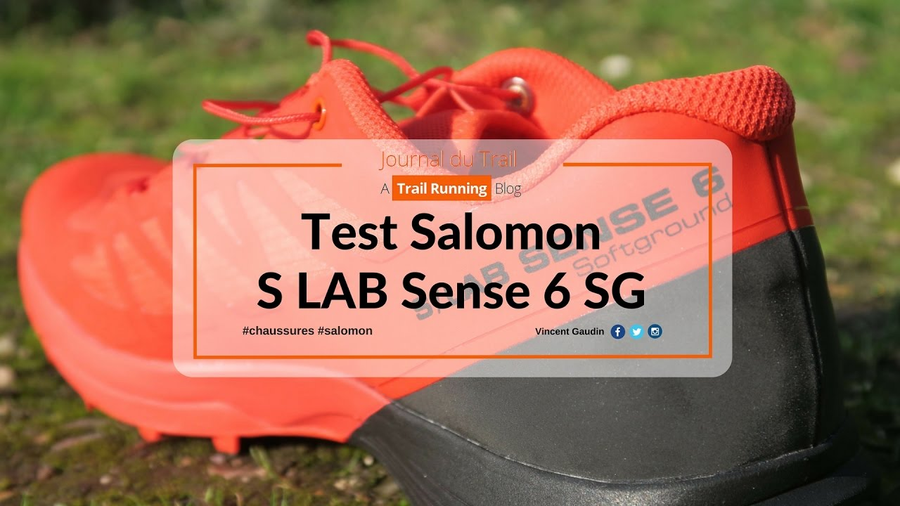 SG S 6 Test Salomon Lab Sense YouTube u3T15clFJK