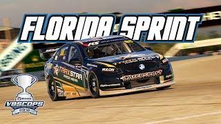 iRacing: V8SCOPS Florida Sprint - Race 1 (V8 Supercar @ Sebring)