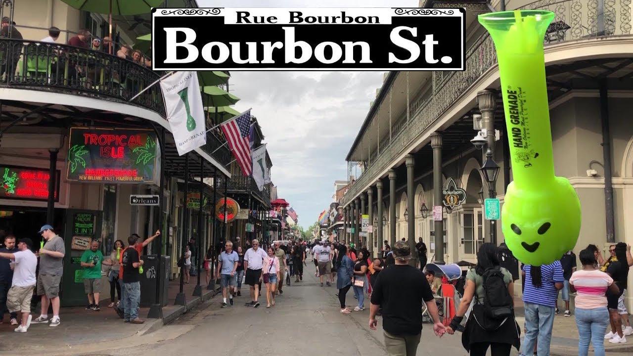 2018 guide to drinking on bourbon street new orleans youtube - Bourbon street piastrelle ...