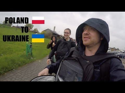 WOULD YOU attempt this trip from POLAND to UKRAINE? (Step-by-step directions)
