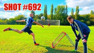 We Hit 1000 VOLLEYS & This Was Our Best GOAL! (with Kieran Brown)
