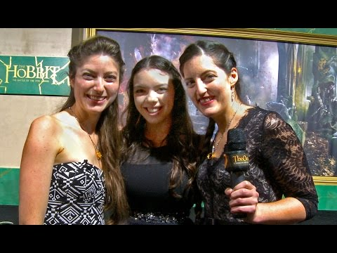 RAW Footage: Hobbit BOTFA Premiere Hollywood