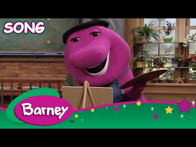 Barney: We Like the Shapes Travel Video