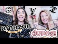 9 AMAZON DESIGNER DUPES VS. REAL DESIGNER PRODUCT | COMPARING FAKES VS. REAL