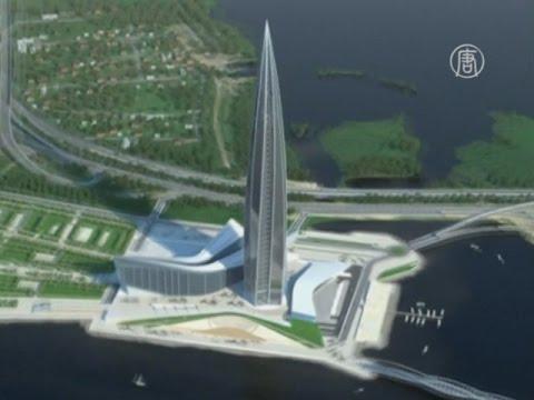 Петербуржский небоскреб попал в Книгу рекордов Гиннесса (новости)