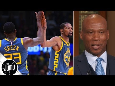 Byron Scott not buying peace between Kevin Durant and Draymond Green | The Jump