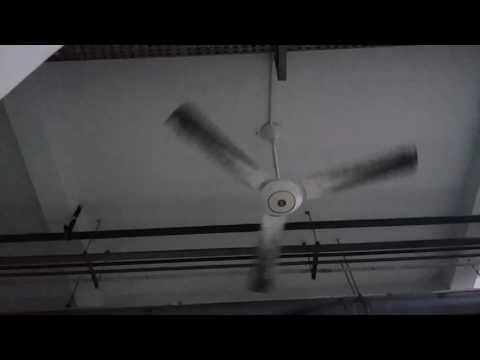 """3 60"""" RARE KDK Industrial ceiling fan"""