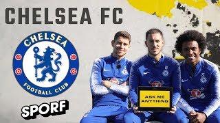 Hazard, Willian & Jorginho! | Ask Me Anything | Chelsea FC X SPORF #ad