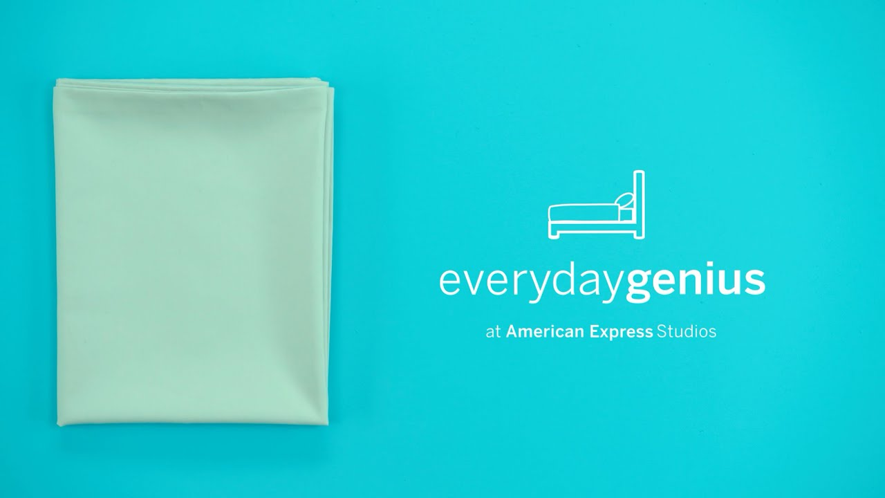 How to Fold Your Fitted Sheets | Everyday Genius with Kari Byron