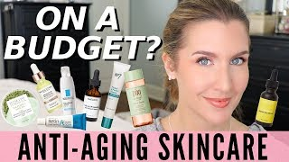 Affordable Anti Aging Skin Care | Products & Routine | BEAUTY OVER 40 thumbnail