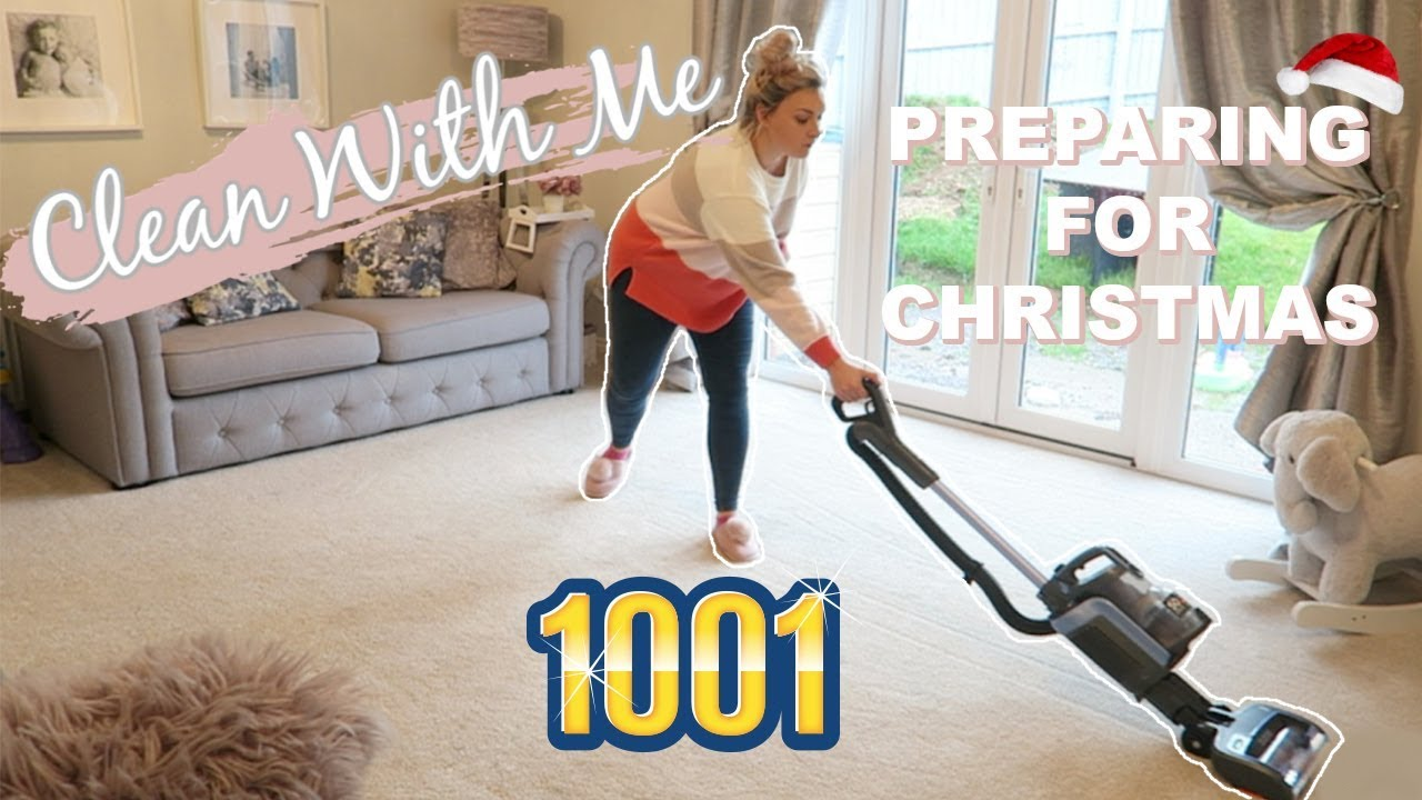 Christmas Carpet Cleaning.Clean With Me To Prepare For Christmas 2018 Christmas Cleaning Motivation Mrs Smith Co
