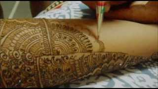 Beautiful Design Full Hand Indian Arabic Bridal Mehndi/Indian Pakistani Bridal Hand