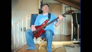 Steve Vai - Bad Horsie (Bass-Cover)