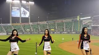 한화이글스 치어리더 공연 (조민지 조아련 이나경 김라희…