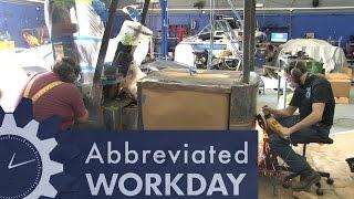 Forklift Refurbishing: Abbreviated Workday #52