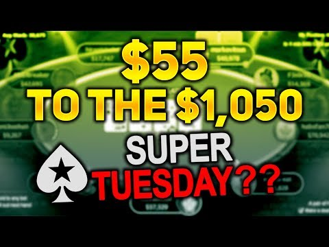 $55 TO THE $1,050 SUPER TUESDAY! BONUS HIGHLIGHTS! 20th June 2017