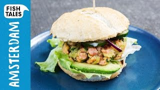 Salmon Burger | Bart's Fish Tales