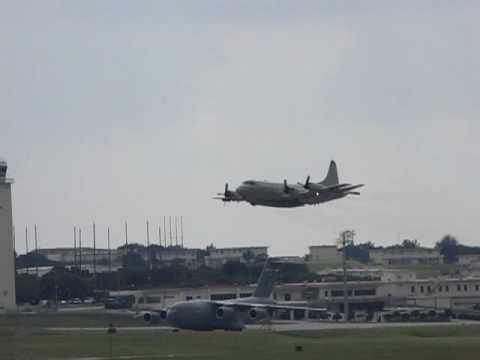 USA NAVY P-3 ORION KADENA AIR BASE @ OKINAWA JAPAN