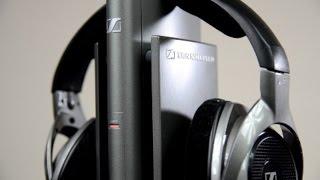 Sennheiser RS 180 Wireless Headphones review & SPL dB test