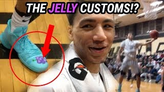 Jahvon Quinerly Wears JELLYFAM KICKS & Puts On A SHOW! Full Highlights 🍇