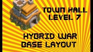 Clash of Clans - Best TH7 Trophy Base Layout