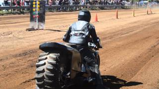 Repeat youtube video Top Fuel Motorcycle Dirt Drag Racing