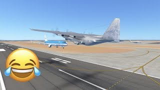 Stupid Pilot Fails On Infinite Flight Mulitplayer