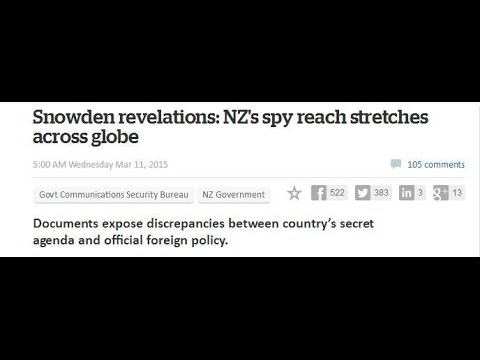 Nicky Hager Interview on: Snowden files and NZ's role in the Five Eyes Alliance