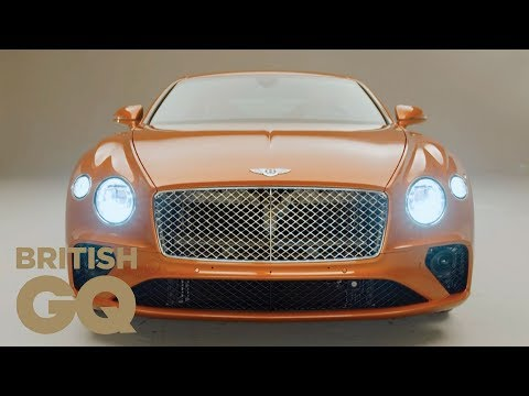 The New Bentley Continental GT: Fast And Smooth | GQ Cars | British GQ