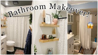 EXTREME SMALL BATHROOM MAKEOVER ! | MAJOR BATHROOM REMODEL | Beyond Paint