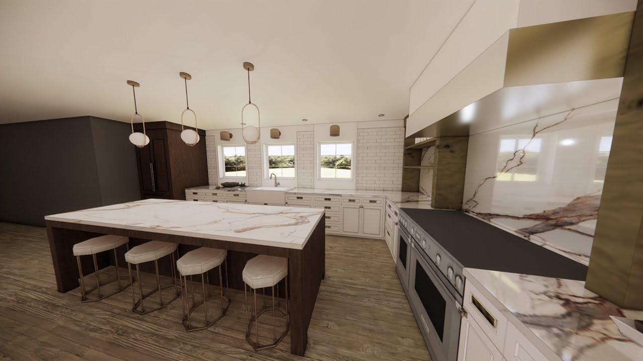 Spalding Hills Kitchen Renovation Plans