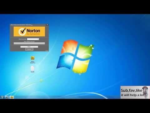 Norton Security Keygen - Step By Step [HD]