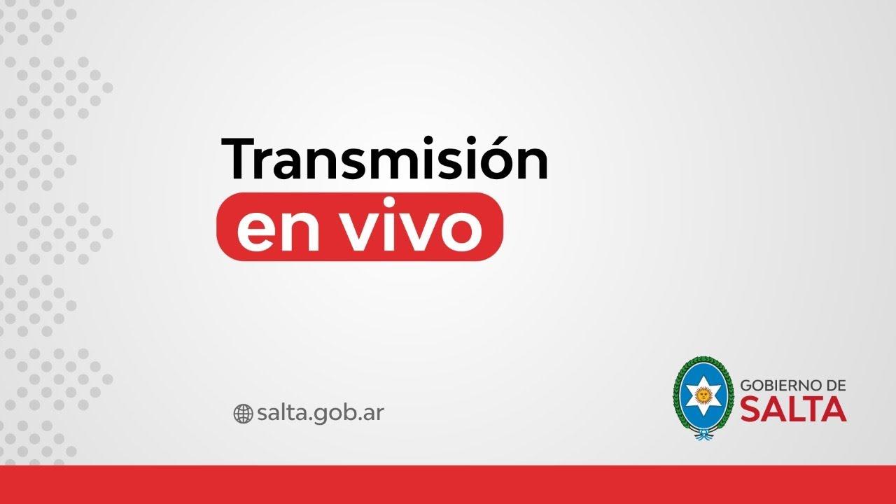 (En Vivo) Gobernador Sáenz, Meoni y Massa: Firma de importantes convenios
