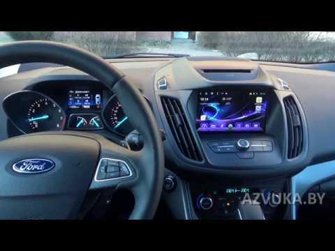 Нестандартная установка ГУ на Android в Ford Kuga 2018