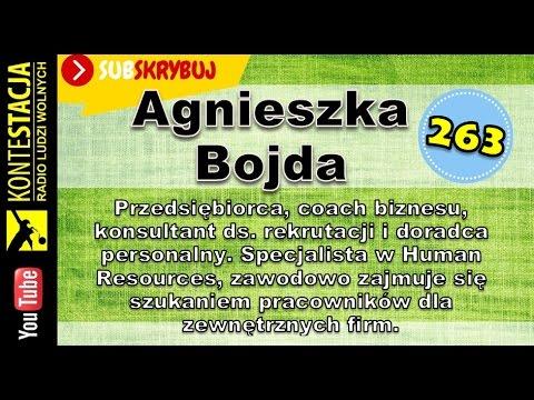 Rekruter pracowników dla firm - Agnieszka Bojda | audycja #263 [Kamil Cebulski]