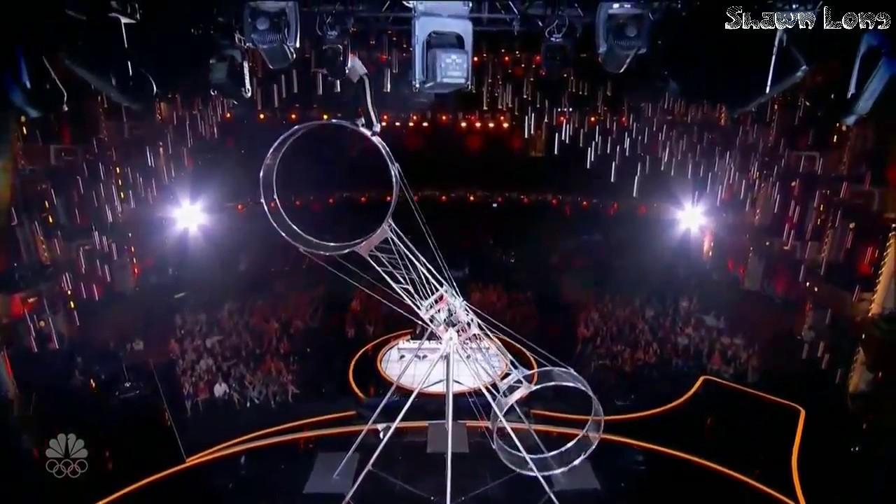 Americas Got Talent 2017 Death - Bello nick wheel of death act full performance america s got talent 2017 8 15 17