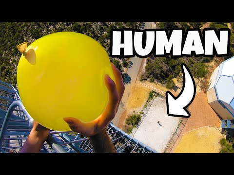 DODGING WATER BALLOONS from 45m!