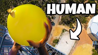 DODGING WATER BALLOONS from 45m!...
