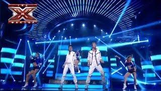 Дуэт Two Voices Come Back And Stay Bad Boys Blue Восьмой прямой эфир Х фактор 4 14 12 2013