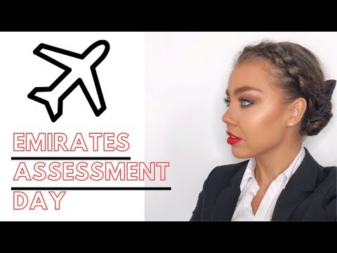 I'M MOVING TO DUBAI   EMIRATES CABIN CREW ASSESSMENT DAY 2019