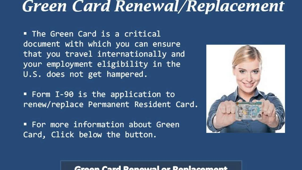 Image result for Green Card Replacement