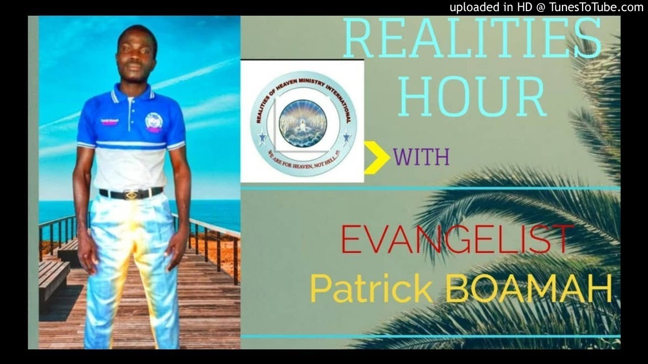 A MESSAGE FROM EVANGELIST BOAMAH