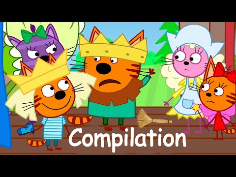 Kid-E-Cats | Episodes Compilation about Friendship | Cartoons for Kids 🤓
