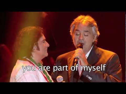 Più Su (Higher) - Renato Zero feat. Andrea Bocelli (sub english)