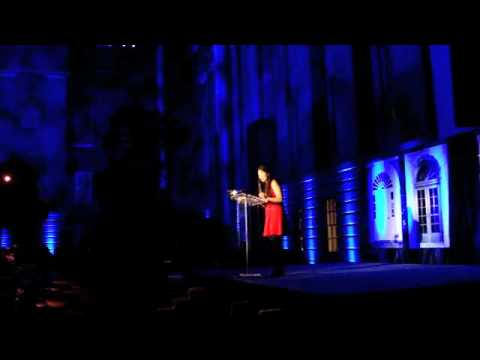 Rebecca's Speech at National Portrait Gallery on 10/29/2011