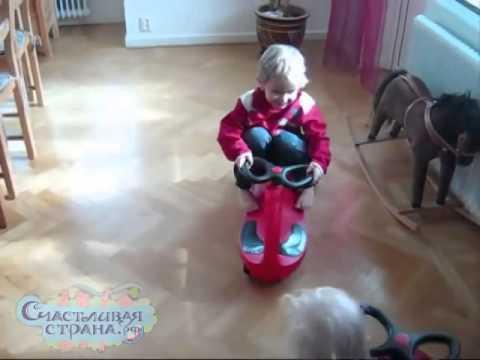 Bibicar Бибикар машинка каталка для детей в Екатеринбурге - YouTube