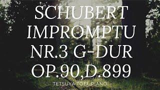 SCHUBERT:IMPROMPTU NR.3 Ges-dur OP.90,D.899/シューベルト:即興曲第3番 変ト長調 作品90 D899