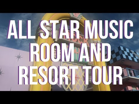 Arriving at ALL STAR MUSIC - Room and Resort Tour | Walt Disney World Vlog September 2018